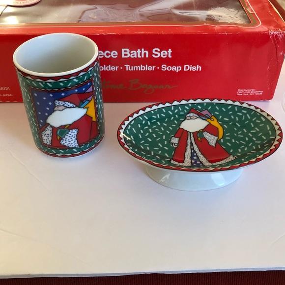 Vintage Japan Santa Soap Dish Cup FWC Home Bazaar